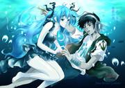Deep sea girl  Alan Morais G feat Hatsune Miku