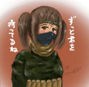 オリジナルのハマス娘を描いてイスラエルを倒そうキャンペーンに参加しました