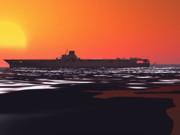 タウイタウイの女神と沈む夕日