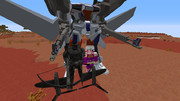 【MCヘリ】飛行スーツ作ってみた【minecraft】