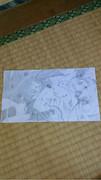 学校で描いたミク
