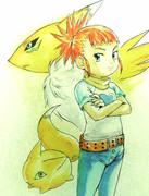 ルキとレナモン