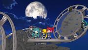 月夜のステージ