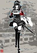 松本城擬人化(女体化)【オリジナル】