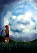 空と大地と私