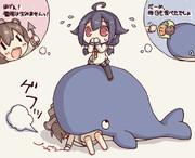 クジラの女神のキスを感じちゃいます!