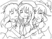 毎ユキ 341 DSiうご小説での姉妹ごっこ(本当は2名寝たきり