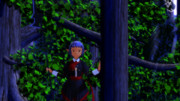 月夜の森の出逢い