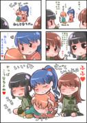 【艦これ四コマ】でふぉるめだぞぇ!『にっ』