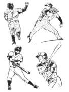 5分スケッチ(3)野球
