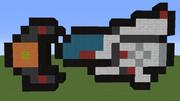 【Minecraft】R-TYPE 【R-9A】ドット風