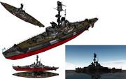 MMD用モブ海防戦艦1945セット