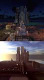 【Minecraft】ミニチュア都市 その3