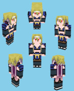 【Minecraft】中部つるぎ【東北ずん子小説】