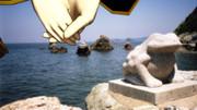 【MMD】 二見夫婦岩の二人 【Mてく】