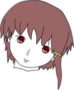 lain iwakura's face