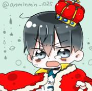 トビオちゃん(王様)フリーアイコン