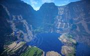 【Minecraft】滝