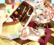 お菓子の国の