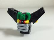レゴでブラックゲッター(顔)