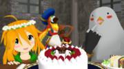 【MMD】リノちゃんのお誕生日会