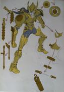 天平座圣衣与武器设计