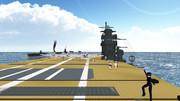 【MMD艦これ】3-3で完全勝利した第一航空艦隊「スルメ饅頭」UC