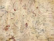 ジェット気流航路図