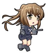 睦月型駆逐艦7番艦 文月 「本領発揮だよ〜」