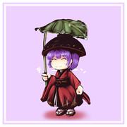 葉っぱ傘針妙丸