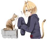 小梅ちゃんvs猫