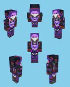 【Minecraft】ゆかりんっぽいロボ(RF-01)っぽいスキン