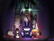 闇の珍獣達(兎)