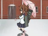 電ちゃん連番アニメ(歩くだけ)