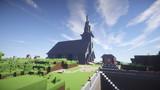 【Minecraft】西洋風の教会をつくってみた