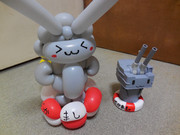 【バルーンアート】連装砲ちゃんを作ってみた・3号機【作ってみた】