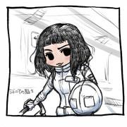 ヒ山ララ:MayuTube 30分お絵かき 1枚目