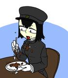 ごはんの食べ方汚いあきつ丸