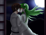 月下の接吻 優一×早苗