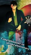 ボボヂ式虎徹さん、2周年おめでとうございます