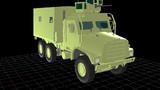 制作中その2 MTVR2 (中型戦術車輌後継型 )米軍