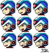 【ロックマンX】表情ヴァリエーション【コピーX】