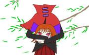 お祓い棒友人アレンジの赤蛮奇