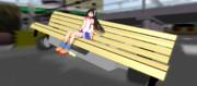【配布】そこらへんにありそうな走るベンチ