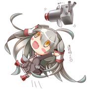 連装砲君「ぬわーっ」