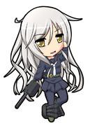 睦月型駆逐艦9番艦 菊月 「また強くなってしまった…」