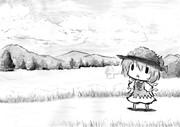 七月に入って本格的に夏になるのでチルノ描いてみた!