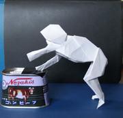 折り紙と化した野獣ステップ