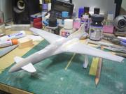 【フライトグライド】共和国重戦闘機トラギア【製作中01】