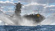 戦艦ドリフトー!